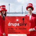 drupa 2016: Düsseldorf wird zu drupacity