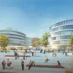 Riesiger neuer Bürokomplex im Medienhafen geplant