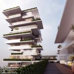 Wohnen am Rheinturm: Luxus-Wohntürme am Rhein geplant