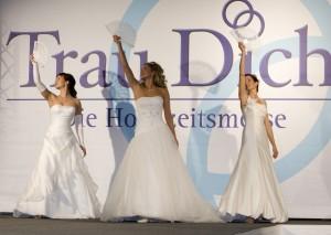 Brautmode   auf der TrauDich! Messe