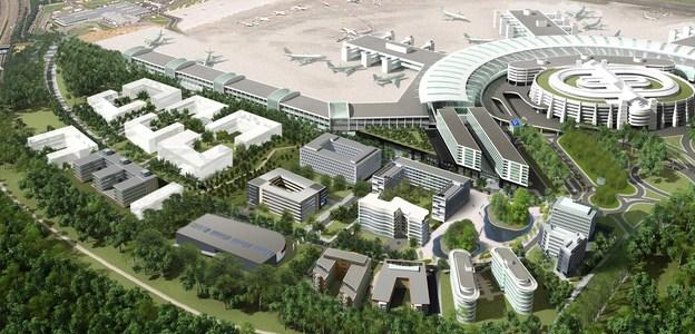 Airport City, Foto: Flughafen Düsseldorf GmbH