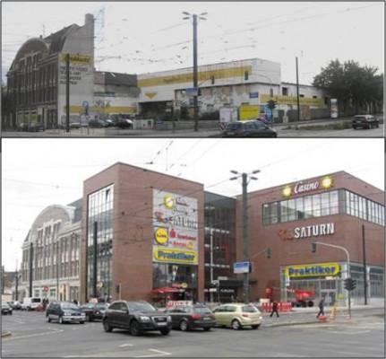 B8-Center in Flingern soll abgerissen werden