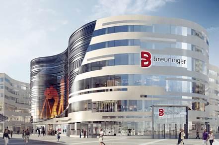 Breuninger zieht in den Kö-Bogen in Düsseldorf