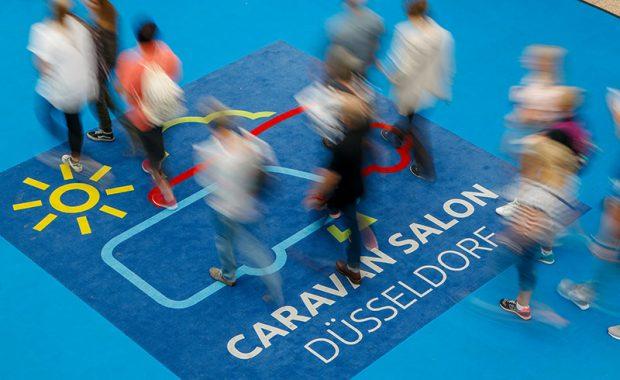 Caravan Salon Düsseldorf 2020 mit maximal 20.000 Besucher pro Tag