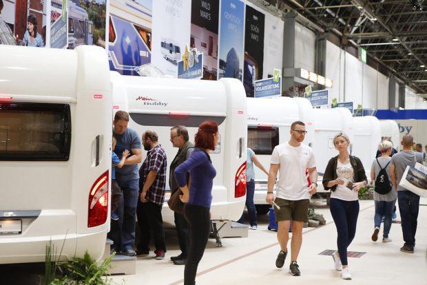 Caravan Salon Düsseldorf 2017 – ein echtes Caravaning-Paradies