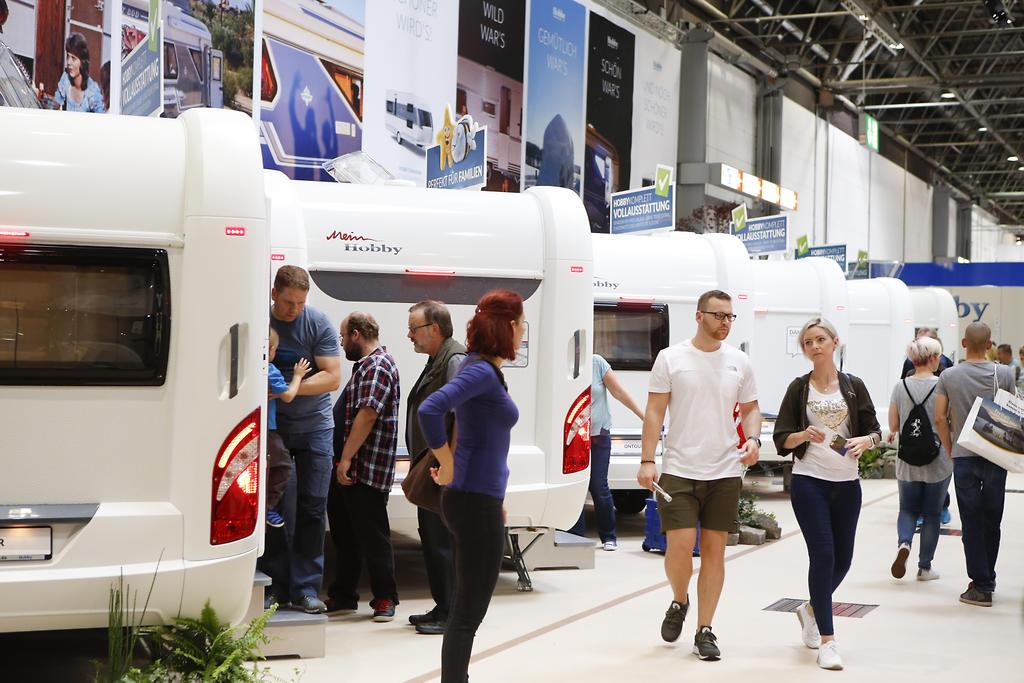 Caravan Salon Düsseldorf 2017 ein echtes Caravaning-Paradies