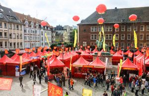 Chinafest in Düsseldorf