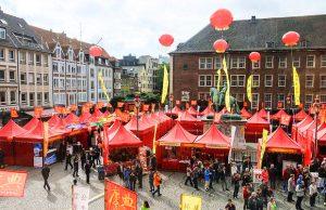 Chinafest in Düsseldorf