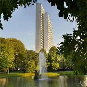 Dreischeibenhauses Düsseldorf