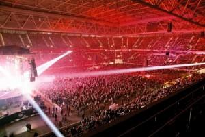 Blick in die Eprit arena, Foto: Düsseldorf Congress Sport & Event