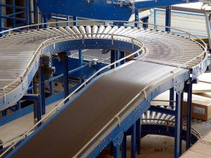 Fabrik Transportband