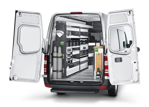 Servicefahrzeuge für das Handwerk – Ladung richtig sichern