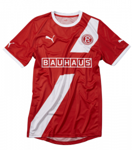 fortuna d sseldorf pr sentiert bauhaus als neuen haupt und trikotsponsor. Black Bedroom Furniture Sets. Home Design Ideas