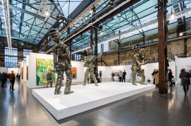 Ganz große Geister von Thomas Schütte / Art Düsseldorf