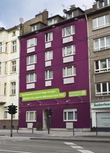 """Ungewöhnliches """"Heizungshaus"""" der Stadtwerke Düsseldorf macht auf Defizite aufmerksam"""