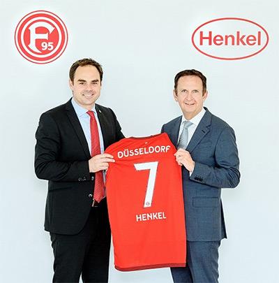 Henkel wird neuer Haupt- und Trikotsponsor von Fortuna Düsseldorf