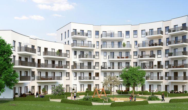 Projekt Living Circle - Im ehemaligen Thyssen-Trade-Center entstehen 340 Wohnungen