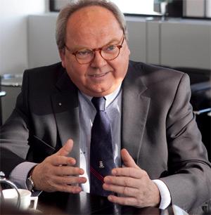 Werner M. Dornscheidt, Vorsitzender der Geschäftsführung der Messe Düsseldorf GmbH