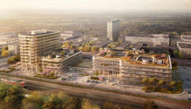 "WPP plant Agentur-Campus ""Mizal"" in Düsseldorf"