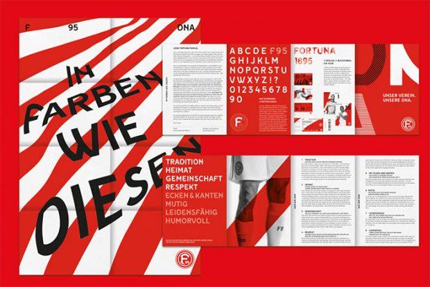 Morphoria Design Collective gestaltet Markenauftritt von Fortuna Düsseldorf