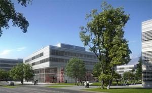 Neubau der Fachhochschule Düsseldorf