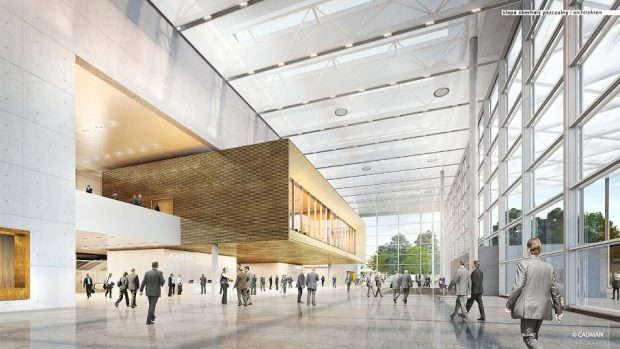 Neue Messe Süd Foyer