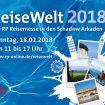 ReiseWelt 2018: Reisemesse am 18. Februar in den Schadow Arkaden