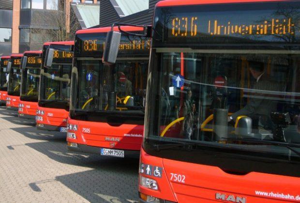 Großbrand in Rheinbahn-Depot zerstört Dutzende Linienbusse