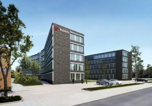 Neue Rheinbahn-Zentrale auf dem Betriebshof Lierenfeld