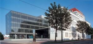 Die Rheinmetall Hauptverwaltung in Düsseldorf