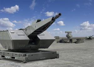 Rheinmetall produziert u.a. Flugabwehrsysteme, Täuschkörpersysteme, Funktionsfahrzeuge, Panzer, Infanterieausrüstung und andere Rüstungsgüter, Foto: Rheinmetall-Pressebild
