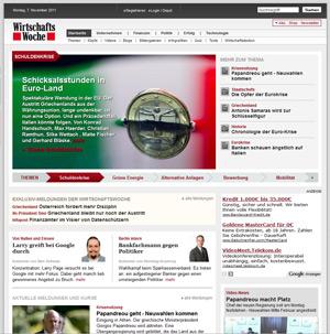 Screenshot wirtschaftswoche.de
