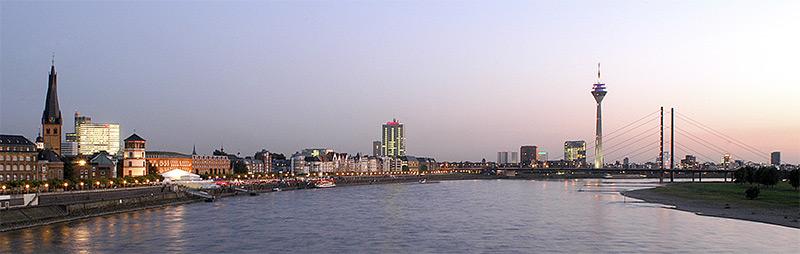 Skyline Düsseldorf
