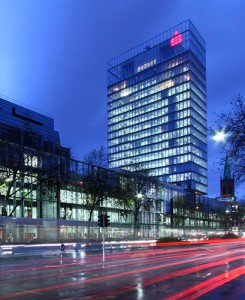Zentrale der Sparkasse Düsseldorf an der Berliner Allee