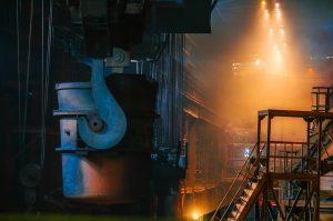 Stahl Produktion