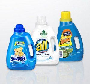 Zu Sun Products gehören bekannte Waschmittelmarken wie all® und Sun® sowie der Weichspüler Snuggle®, Foto: Henkel