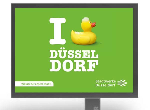 Stadtwerke Düsseldorf  Plakatkampagne