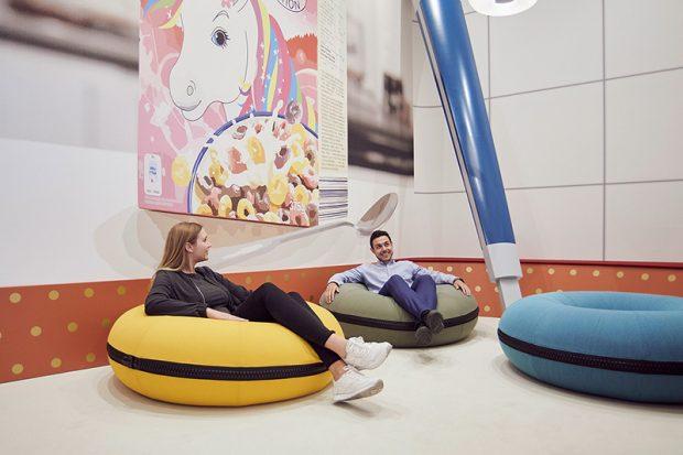 Meeting im trivago Campus Düsseldorf