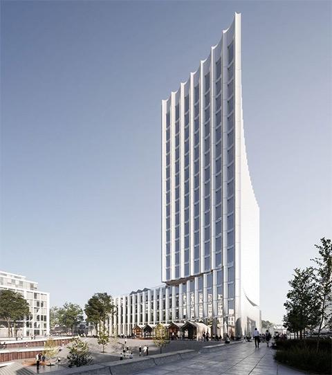 Zech Haus Düsseldorf: Neues Hochhaus für den Medienhafen
